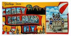 Coney Island New York Beach Sheet
