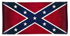 Confederate Rebel Battle Flag Beach Towel