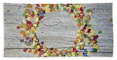 Confetti Circle Beach Towel