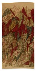 Conglomerate Synthesis  Beach Towel