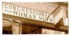 Congressional Union For Woman Suffrage Colorado Headquarters 1914 Beach Towel