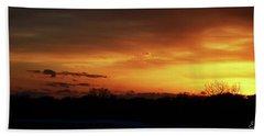 Connecticut Sunset Beach Towel