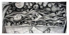 Consequence Beyond The Horizon - Study Beach Towel