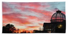 Conservatory At Sunset Beach Towel
