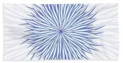 Beach Towel featuring the digital art Consontrate by Jamie Lynn