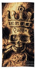Conspiracy Of The Monarch Beach Towel