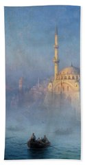Constantinople, Mosque Of Top-kahne Beach Towel