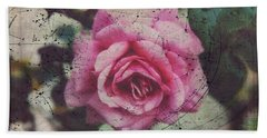 Constellation Rose Beach Towel