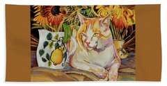 Contentment Beach Towel by Bob Coonts