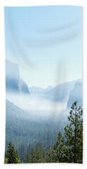 2 Of 4 Controlled Burn Of Yosemite Section Beach Towel