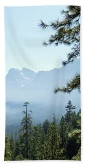 3 Of 4 Controlled Burn Of Yosemite Section Beach Towel