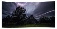 Beach Towel featuring the photograph Convergence  by Aaron J Groen