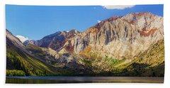 Convict Lake - Mammoth Lakes, California Beach Towel