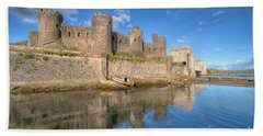 Conwy Castle Beach Towel