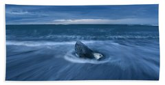 Beach Sheet featuring the photograph Cool Blue by Dustin LeFevre