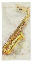 Cool Saxophone Beach Sheet