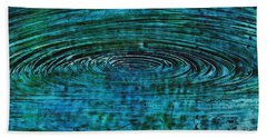 Cool Spin Beach Towel