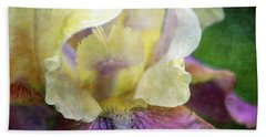 Cool Toned Purple Iris 0319 Idp_3 Beach Towel