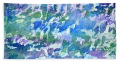 Cool Twilight Beach Towel by Holly York