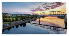 Coolidge Park Sunrise Beach Towel