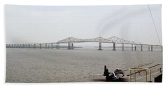 Cooper River Bridges Beach Towel