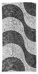 Copacabana Tiles In Rio De Janeiro Beach Towel