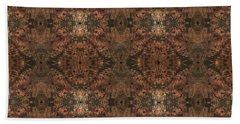 Copper Abstract 1 Beach Sheet