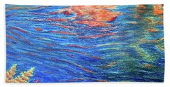 Copper Flow Beach Towel
