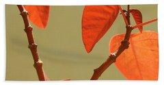 Copper Plant Beach Towel