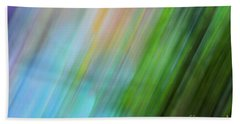 Copper Rainbow Beach Towel