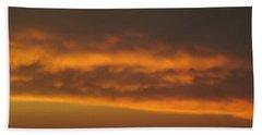 Copper Sky  Ozarks Beach Towel by Don Koester