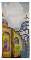 Coptic Church Rebirth Beach Towel
