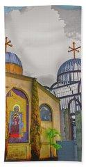 Coptic Church Rebirth Beach Towel