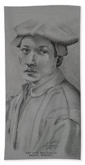 Copy After Michelangelo's Andreas Quaratesi Beach Sheet
