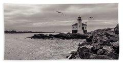 Coquille Lighthouse Oregon  Beach Sheet