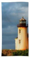 Coquille River Lighthouse  Beach Sheet