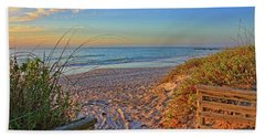 Coquina Beach By H H Photography Of Florida  Beach Sheet by HH Photography of Florida