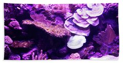 Beach Towel featuring the digital art Coral Art 5 by Francesca Mackenney