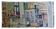 Corcoran School Of Art Ceramic Studio Back In The Days Beach Towel