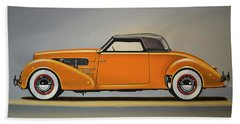Cord 810 1937 Painting Beach Towel