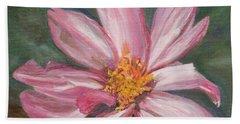Coreopsis Flower Beach Towel