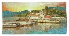 Corfu 30 My Passion Paintography Beach Towel