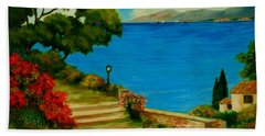 Corfu-greece Beach Towel