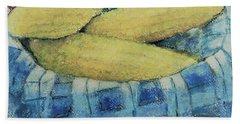 Corn In A Basket Beach Towel