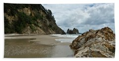 Beach Sheet featuring the photograph Coromandel, New Zealand by Yurix Sardinelly