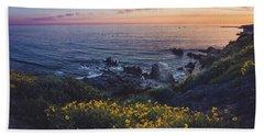 Corona Del Mar Super Bloom Beach Towel