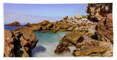 Beach Sheet featuring the photograph Corona Tide Pools by Jeremy Farnsworth