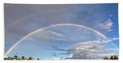 Coronado Rainbows Beach Towel