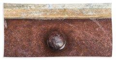 Corten And Concrete Beach Towel by Stan  Magnan