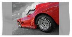 Corvette Daytona Beach Towel by Gill Billington